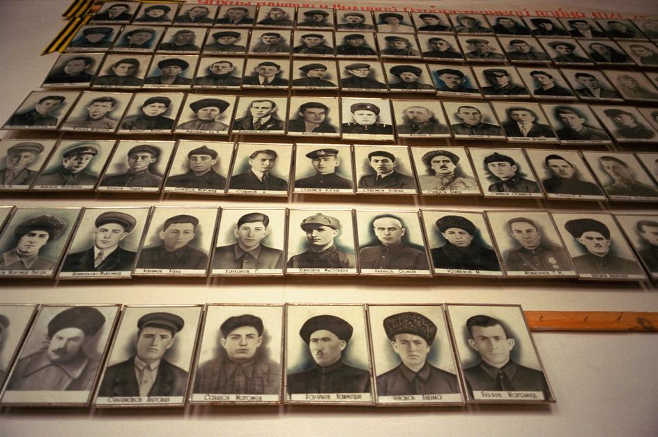 Погибшие в Великой Отечественной аварцы