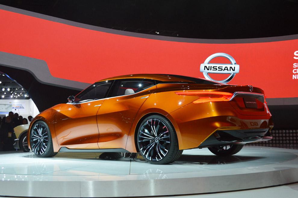 Концепт Nissan Sport Sedan