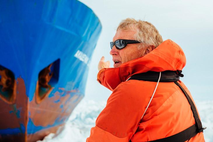 Начальник экспедиции Грег Монтимер