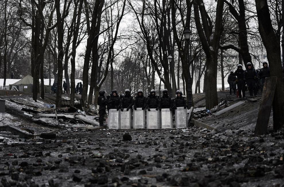 Спецназ Украины в выжидающей позиции