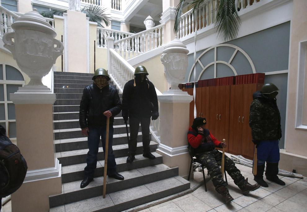 Радикалы внутри Министерства юстиции в Киеве