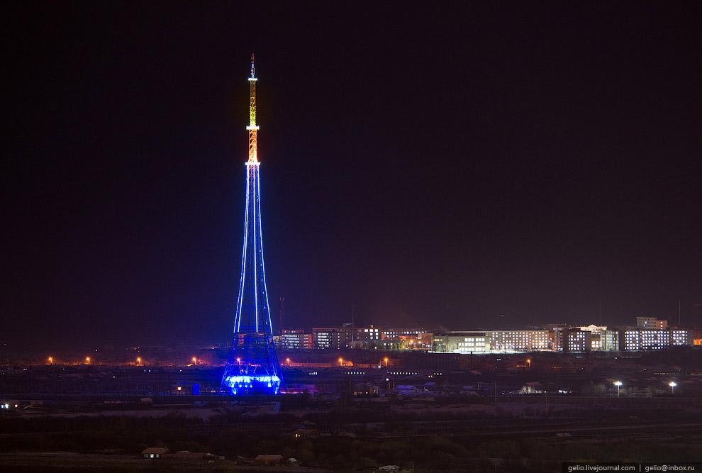 Телебашня Хэйхэ - самое высокое сооружение на Российско-Китайской границе