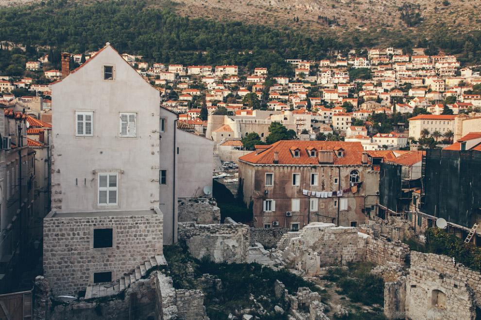 Стены Дубровника
