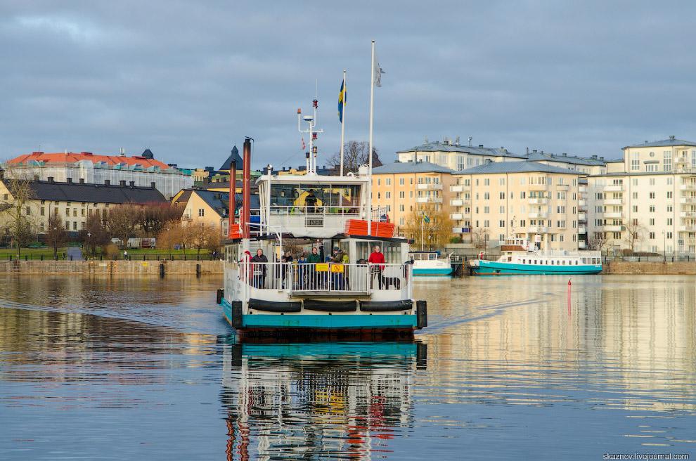 Экоквартал в Стокгольме