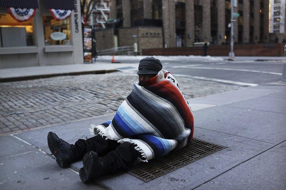 Сложнее всего приходилось бездомным