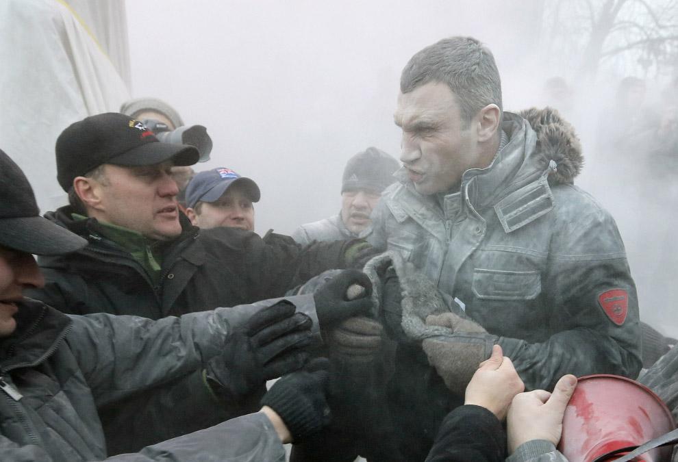 Виталий Кличко, похоже, решил завязать со спортом и окончательно уйти в политику