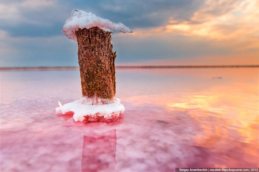Соляные цветы в Крыму