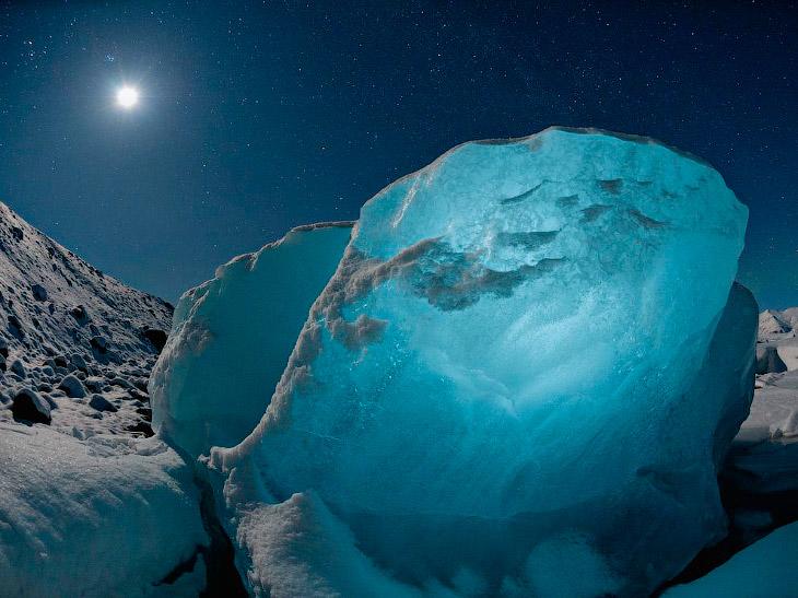 Ледяной алмаз, Исландия