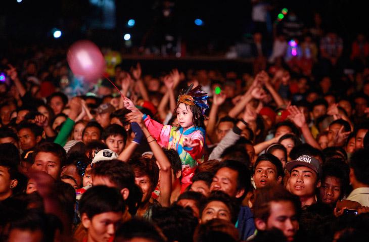 Новый год в Янгоне, Бирма