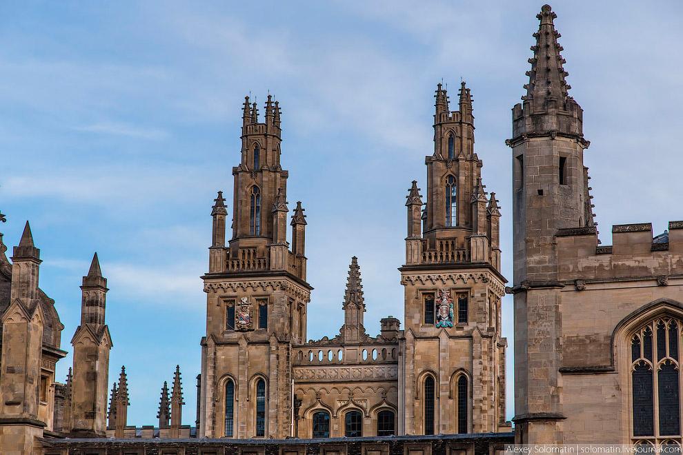 Прогулка по Оксфорду
