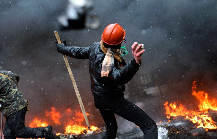 Бои в центре Киева. Часть 2