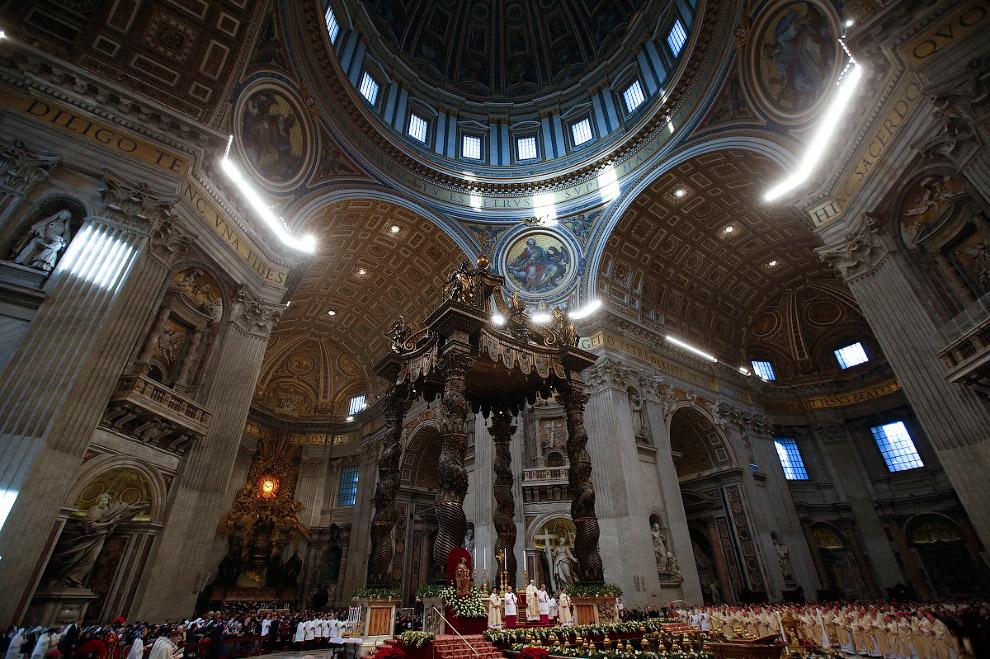 Православное Рождество в Италии. Ватикан