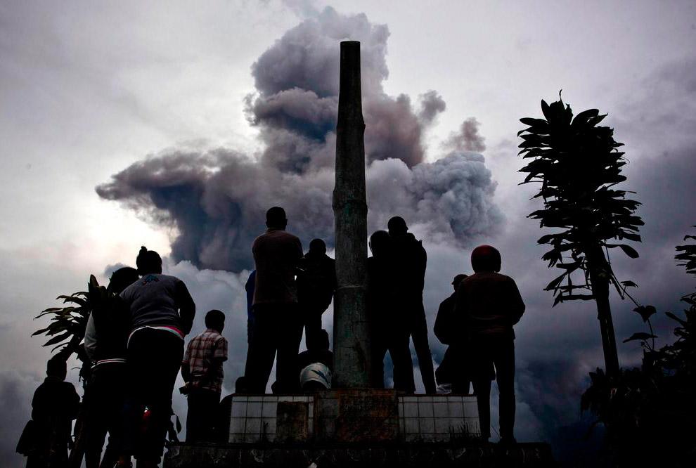 С начала извержения Синабунга в сентябре погибло 11 человек