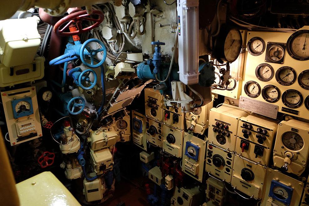 Обзорная труба на подводной лодке