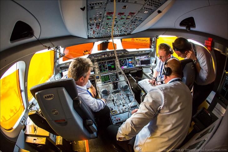 Новый самолет Airbus A350