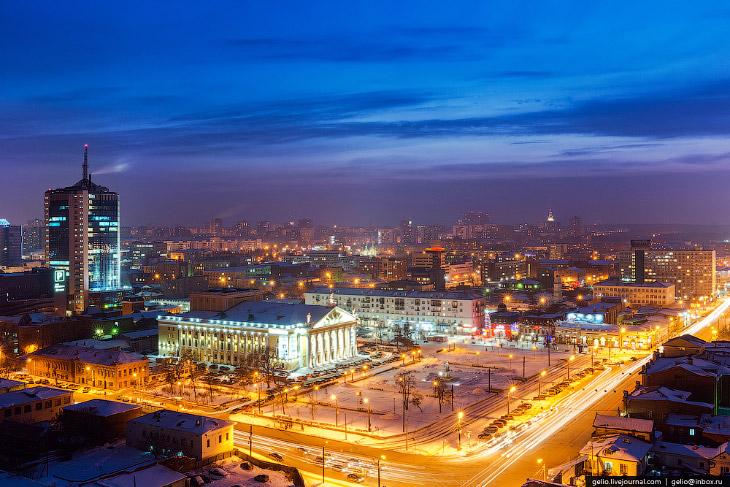 Зимний Челябинск