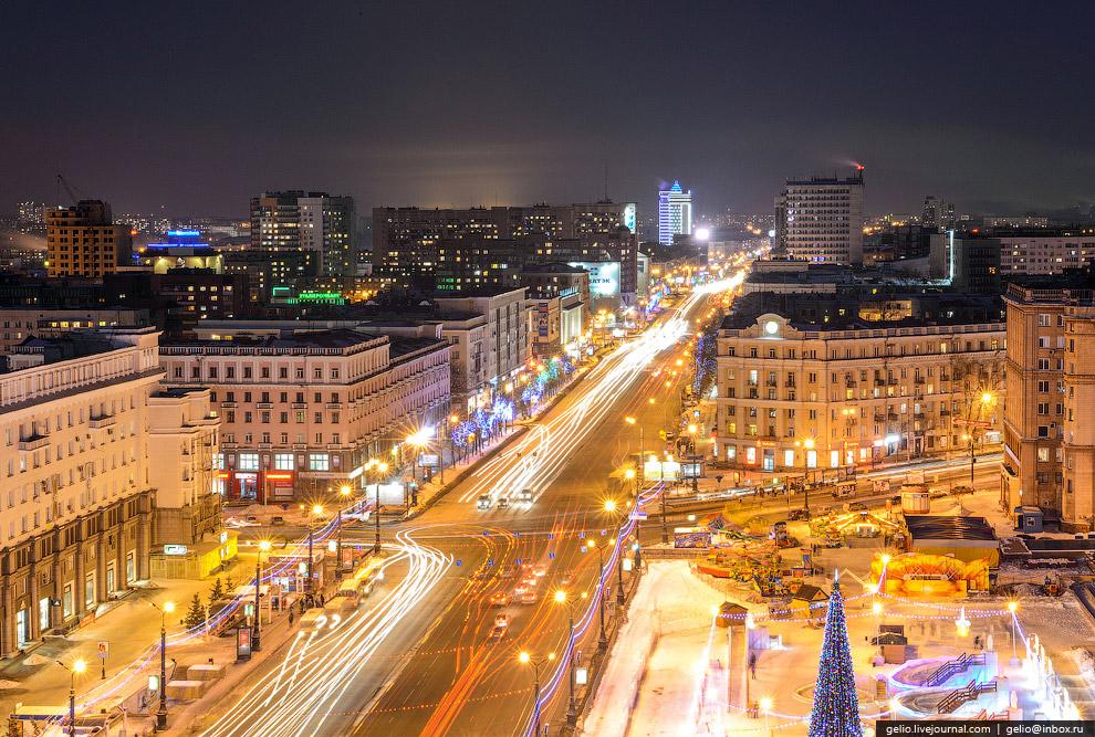 Проспект Ленина. Вид на восток
