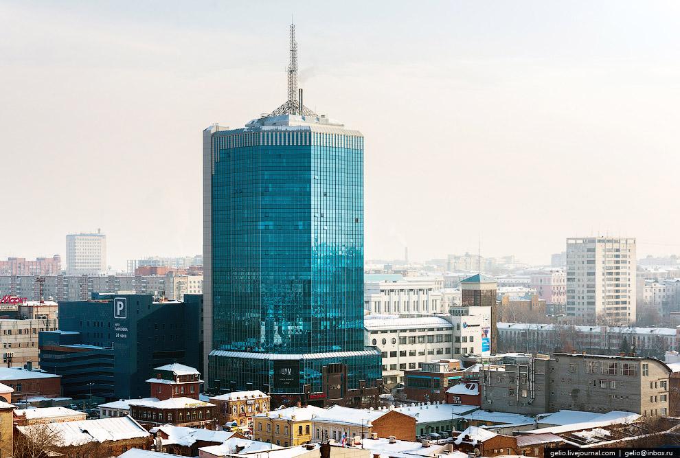 Это самое высокое здание Челябинска