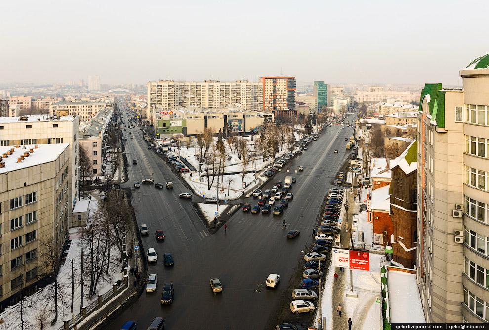 Пересечение улиц Воровского и Красной