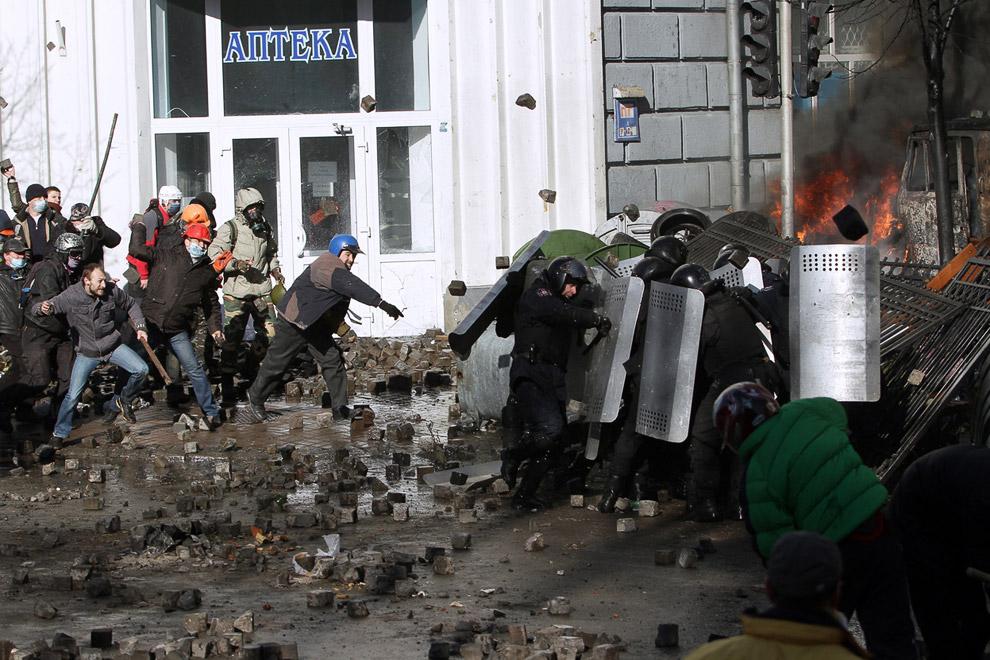 В центре Киева