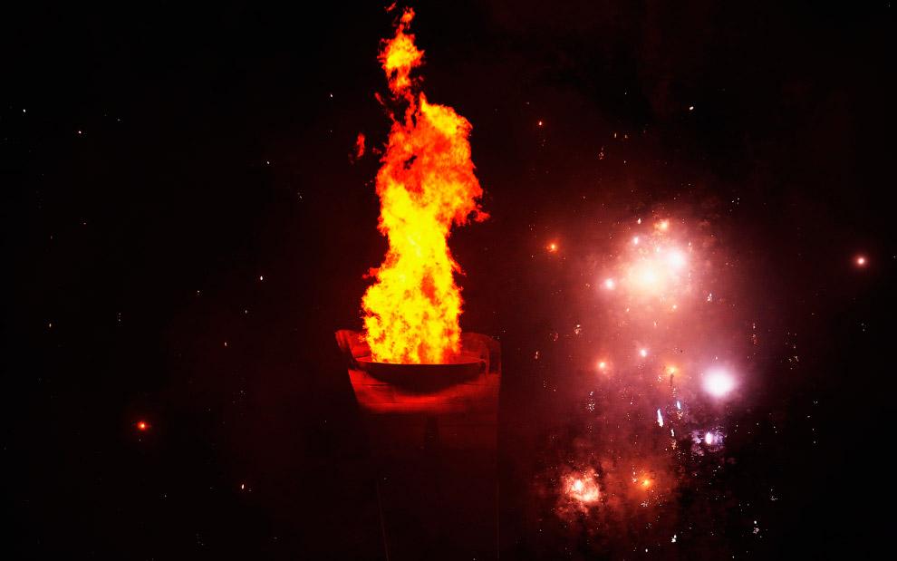 Огонь зимних Олимпийских игр 2014 в Сочи