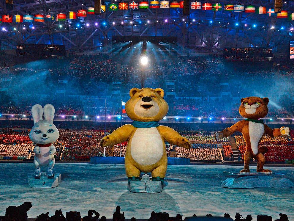 Всего, как известно, у Сочи-2014 три талисмана — Леопард, Белый медведь и Зайка