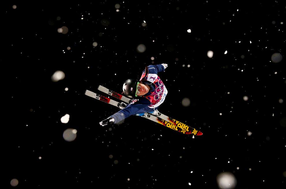 Соревнования по горнолыжному фристайлу