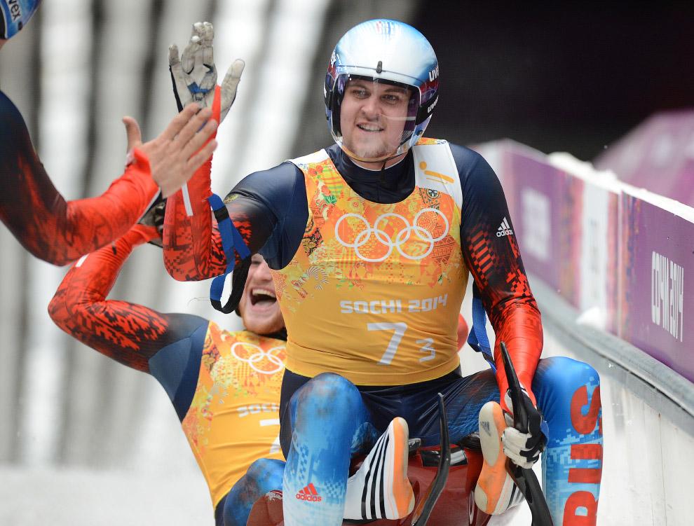 13 февраля 2013 российские саночники выиграли серебро в эстафете