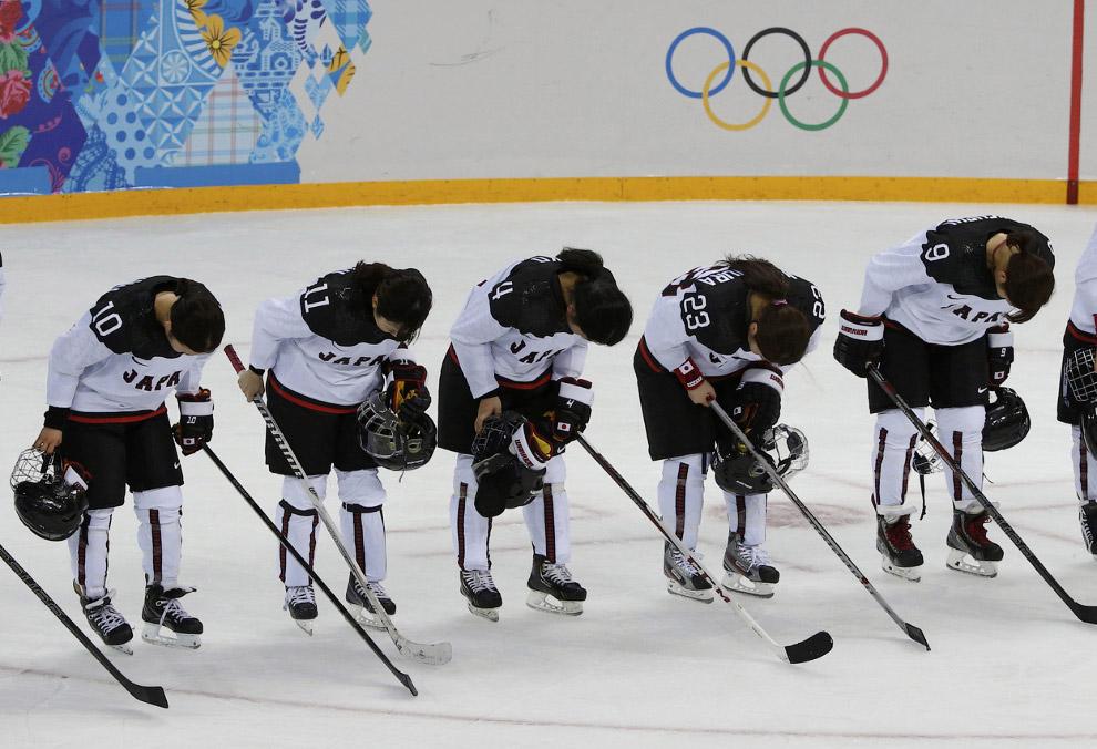 Японская сборная по хоккею проиграла России