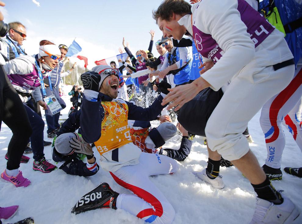 В мужской лыжной эстафете 4×10 км на Олимпиаде в Сочи российская сборная взяла серебро