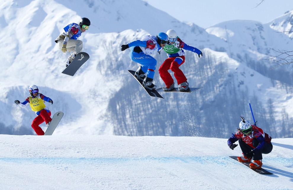Соревнования жещин в сноуборд-кроссе, Роза Хутор