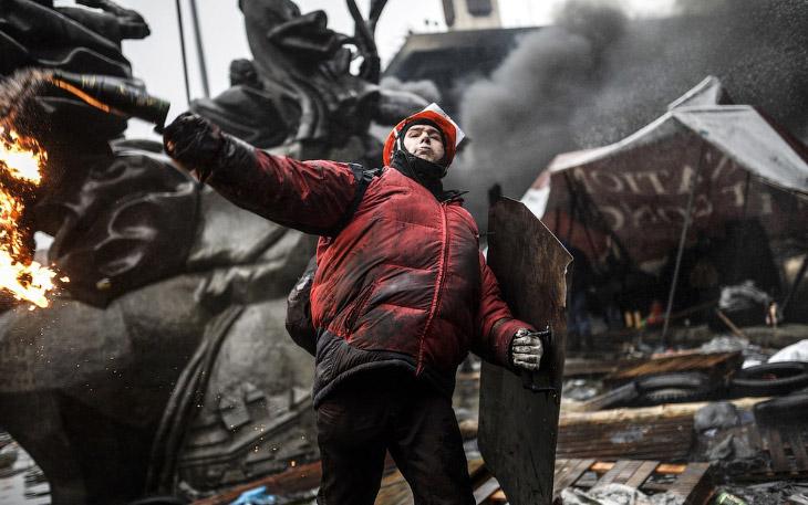 Кровопролитные бои в Киеве. Часть 2
