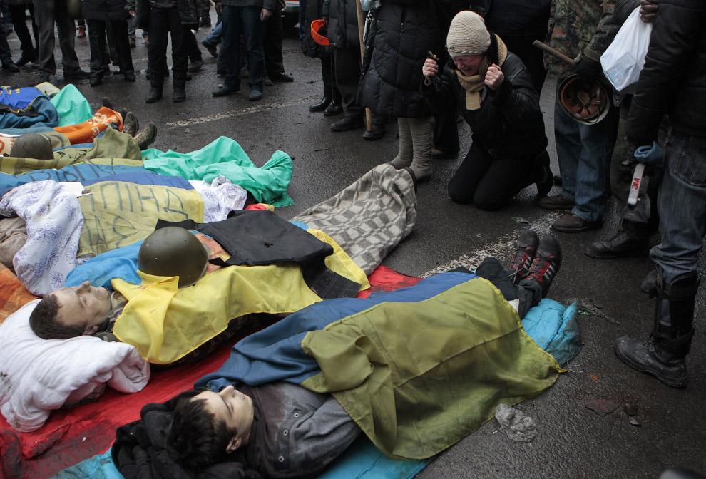 Убитые в столкновениях с милицией на Майдане