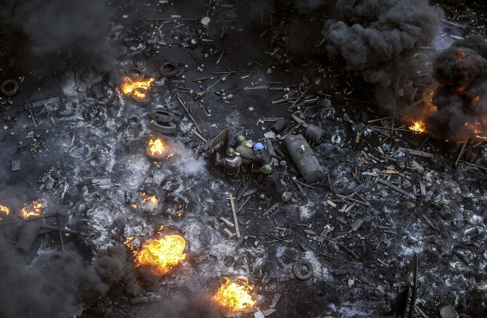 Радикалы в центре Киева