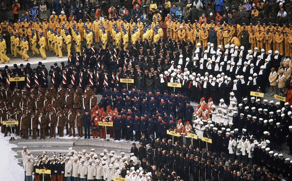 XII зимние Олимпийские игры в Австрии