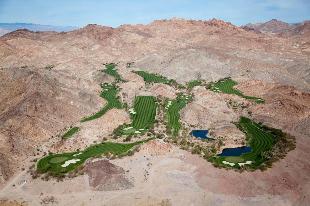 Оазис в пустыне. Лас-Вегас, Невада, США, 2009