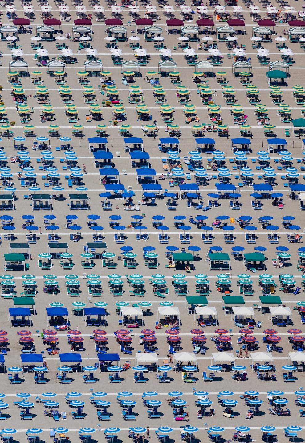 Пляж в Тоскане, Италия, 2010