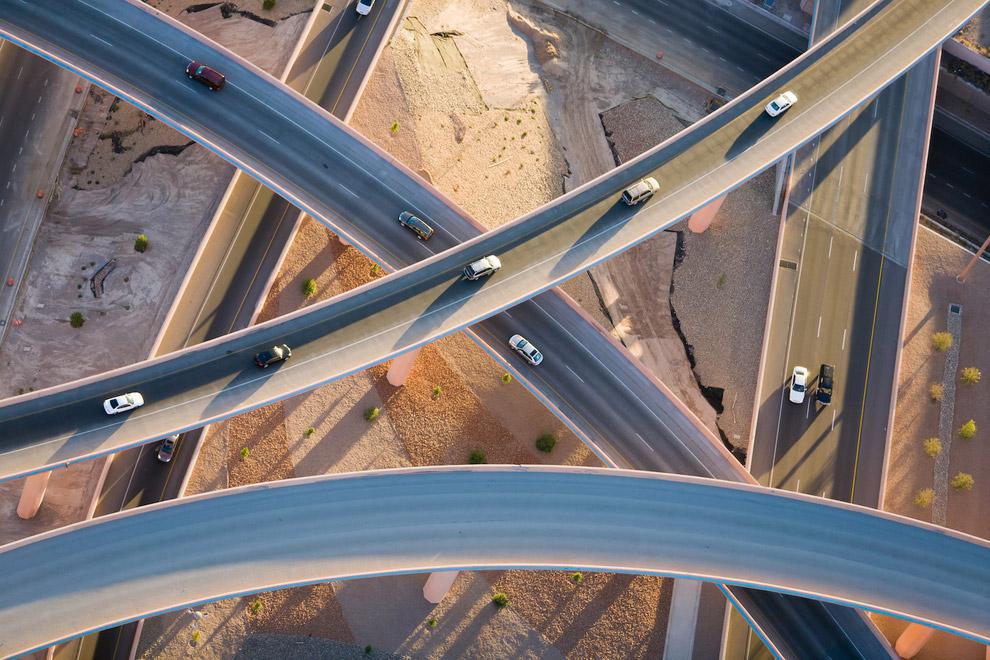 Развязка в Альбукерке, Нью-Мексико, США