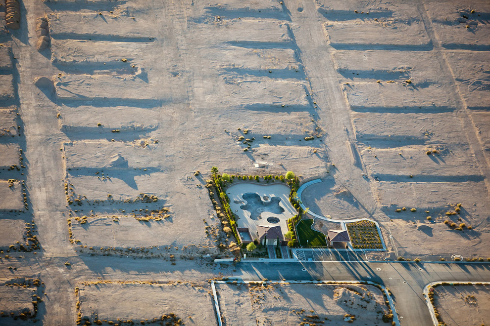 Бассейн в Лас-Вегасе, Невада, США, 2009