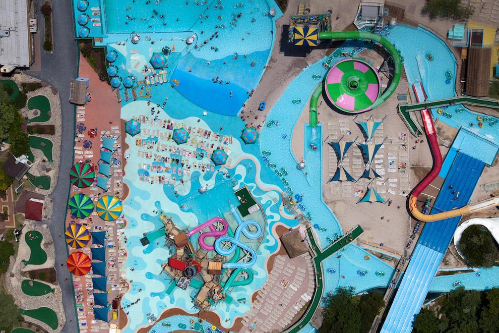 Парк развлечений «Веселый Роджер» в штате Мэриленд США, 2011