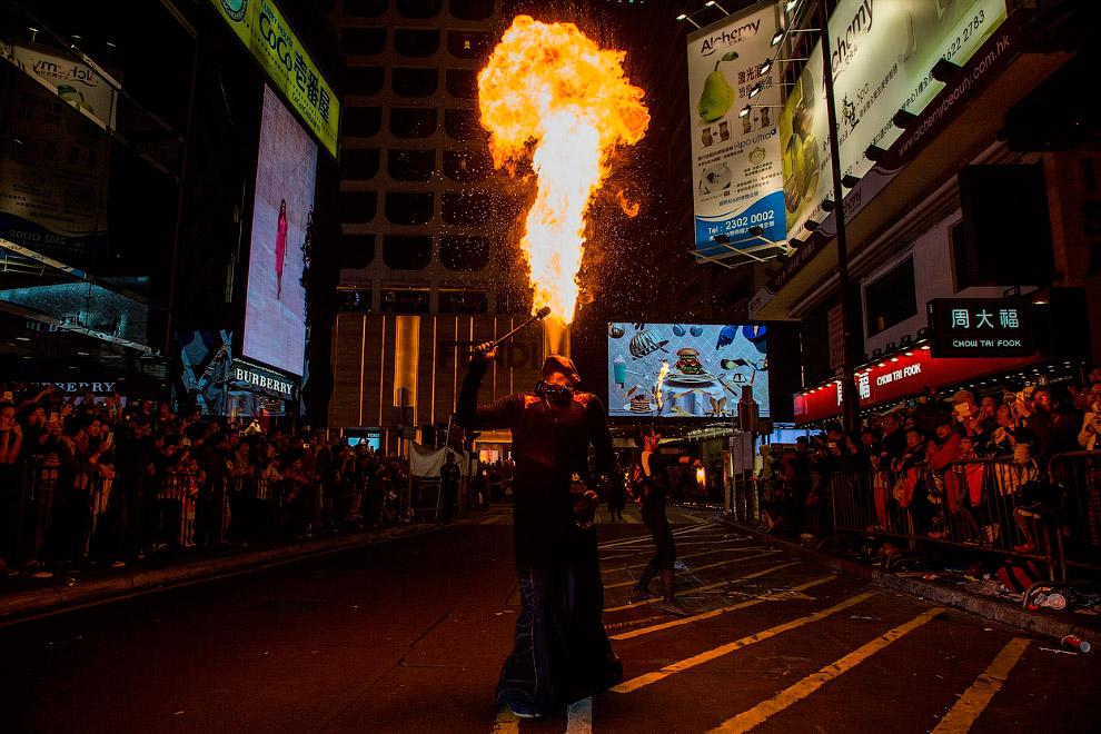 Китайский Новый год 2014 в Гонконге