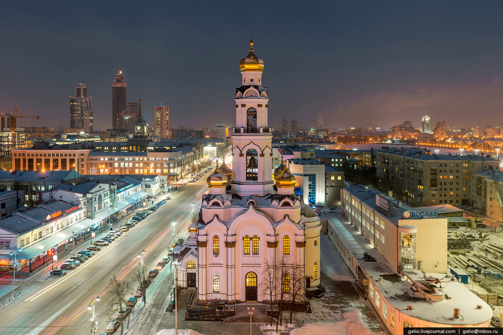 Храм-колокольня «Большой Златоуст»