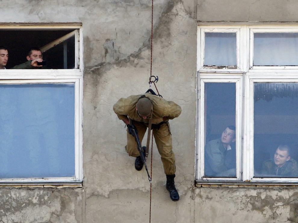 Демонстрационные выступления наших военных в Ставрополе