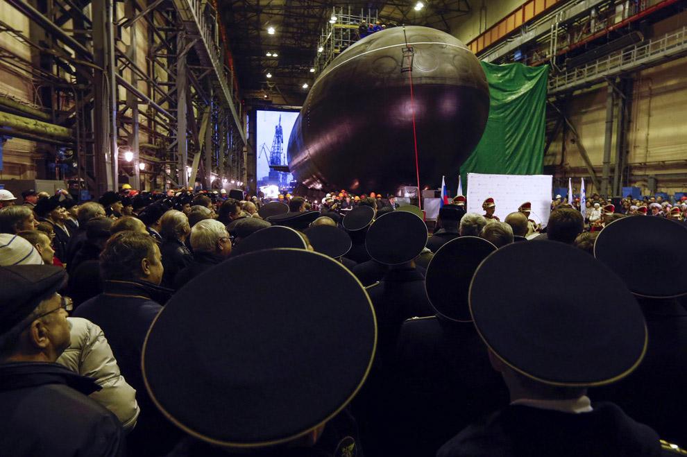 «Новороссийск» — так называется новая дизель-электрическая подводная лодка, которая в 2013 году вошла в состав Черноморского флота РФ
