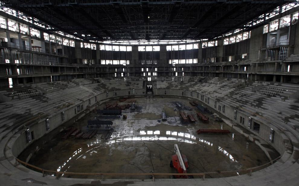 Ледовый дворец «Большой», 20 мая 2011