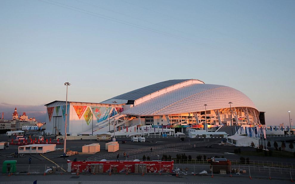 Построенный Олимпийский стадион «Фишт»