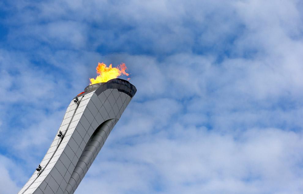 Олимпийский огонь, Сочи