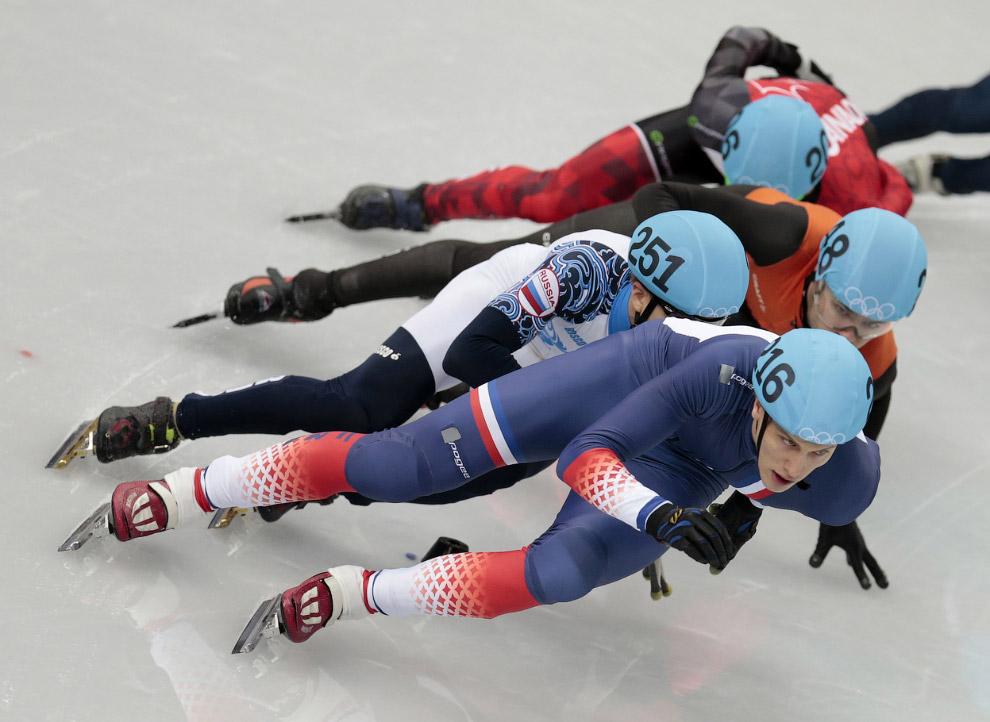 Финал по шорт-треку на дистанции 1 500 метров, прошедшем во дворце зимнего спорта Айсберг