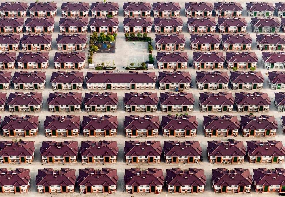 Найди пару отличий в жилом квартале в провинции Цзянсу, Китай
