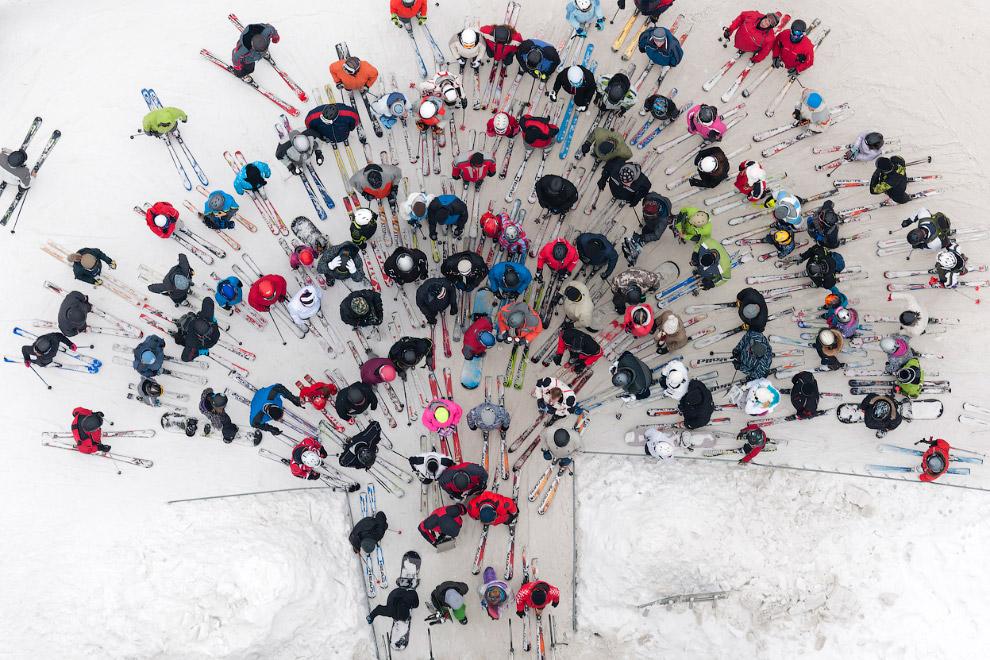 Лыжники, Польша